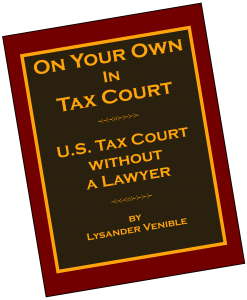 On Your Own In Tax Court Review